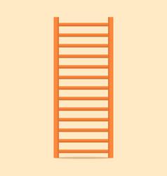 gymnastics wall bars ladder swedish staircase vector image vector image