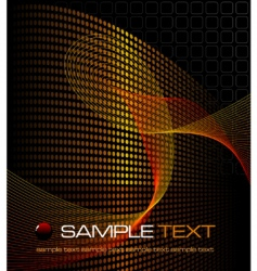 abstract grid design vector image
