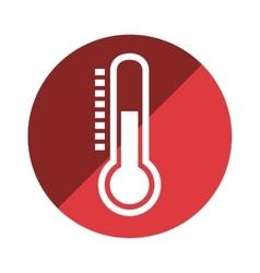 Thermometer temperature measure icon vector
