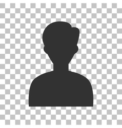 User avatar  anonymous sign dark vector