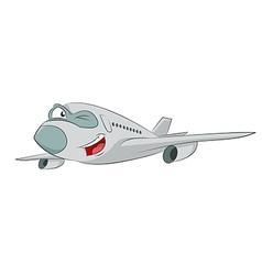 Cartoon plane vector