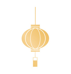 Decorative lantern japanese hanging image vector