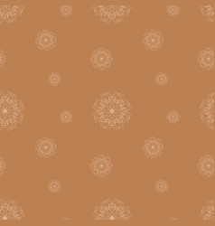 Moderate orange seamless pattern vector