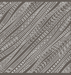 Tribal diagonal seamless pattern vector