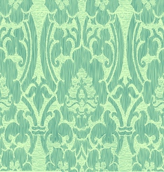 Turqouise pastel abstract striped floral pattern vector