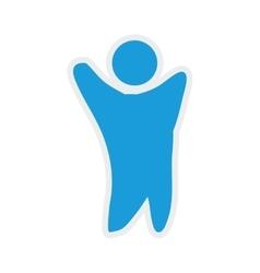 Man icon pictogram male design graphic vector