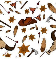 American tribal native symbols vector