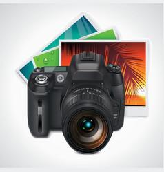 camera and photos xxl icon vector image