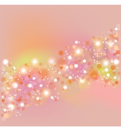 Background with flare vector
