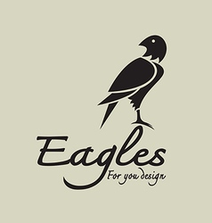 Eagles design vector