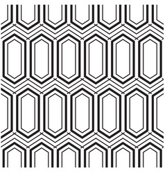 Abstract hexagon concentric pattern background vec vector