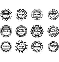 Collection award stamp for design adn graphic vector