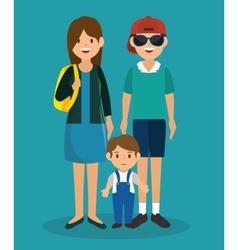 summer vacations holiday poster vector image