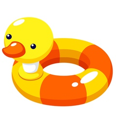 Swim ring vector