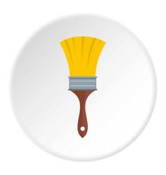 Brush icon circle vector