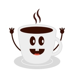 coffee drink cup icon vector image