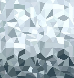 Metal silver elegant low poly geometric background vector