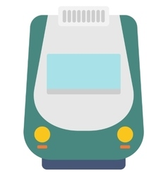 Modern high speed train vector image vector image