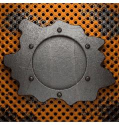 Old metal background vector