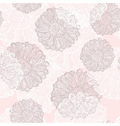 Subtle flowers vector