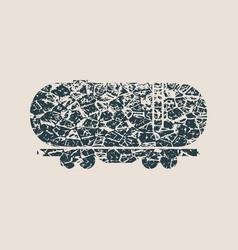 Freight wagon icon vector