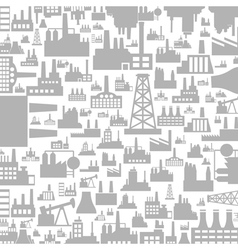 Background the industry3 vector image vector image