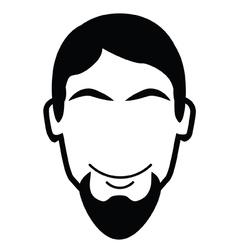 Goatee beard vector