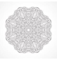 Mandala ethnic decorative elements indian islam vector