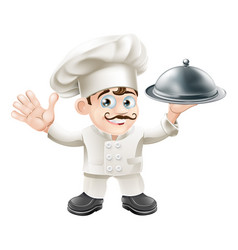 french chef vector image
