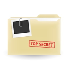 secret file vector image