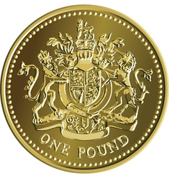 british money vector image vector image