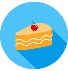 Slice of Cake II vector image vector image