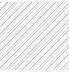 White seamless 3d diagonal stripe background vector