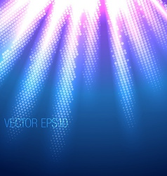 Beautiful of rays vector