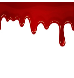 Dripping seamless blood vector