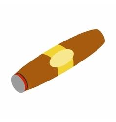 Cigar isometric 3d icon vector