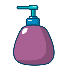Dispenser pump cosmetic icon cartoon style vector