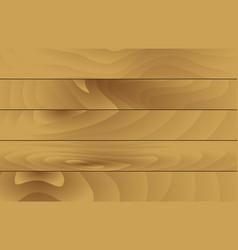 horizontal wooden texture vector image