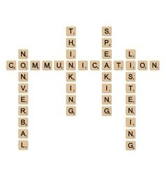 Communication concept board game vector