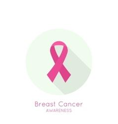 Breast cancer awareness ribbon vector