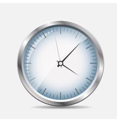 Silver Watch vector image vector image