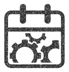 Technical day grainy texture icon vector