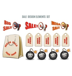 Sales set vector