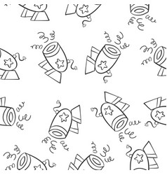 Collection stock of circus theme doodles vector