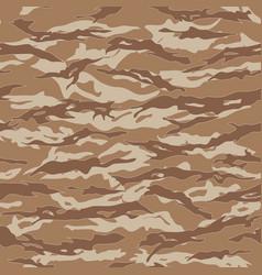 Desert tiger stripe camouflage seamless patterns vector