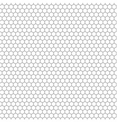 hexagon seamless texture hexagonal grid vector image