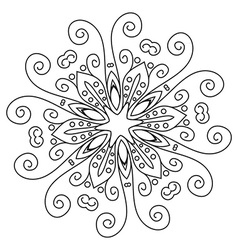 Mandala lace vector