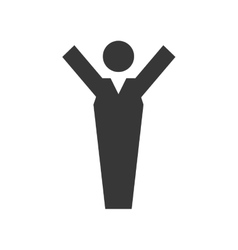 Man icon pictogram male design graphic vector