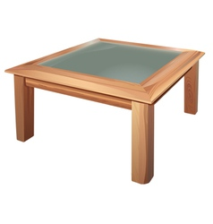 coffee table vector image