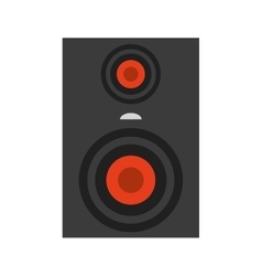 Stereo system icon vector